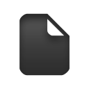 Document, File, Text Icon