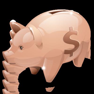Bank, Piggy Icon