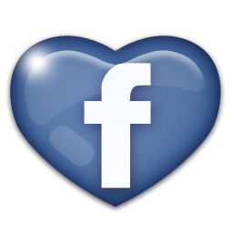 Facebook, Heart, Love Icon