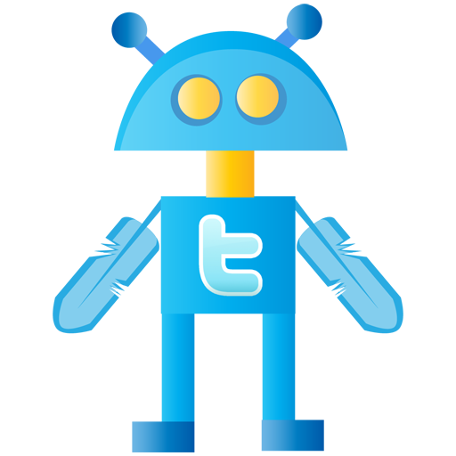 Robot, Twitter Icon