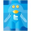 Robot, Twitter Icon