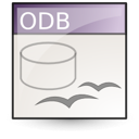 Application, Vnd.Oasis.Opendocument.Database Icon