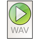 Audio, Wav Icon