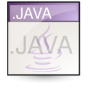 Java, Text Icon
