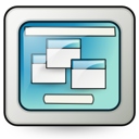 Desktop, Remote Icon