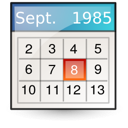 Mime, Text, Vcalendar Icon