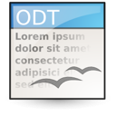 Application, Vnd.Oasis.Opendocument.Text Icon