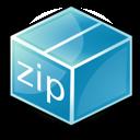 Application, Zip Icon