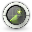 Find, Locate, Radar Icon