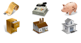 Supervista Accounting Icons