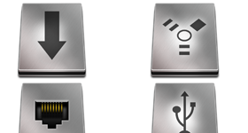 Titanium Hard Drive Pack 2 Icons
