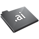Ai, Grey Icon