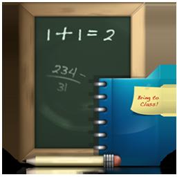 Homework, School, Work Icon