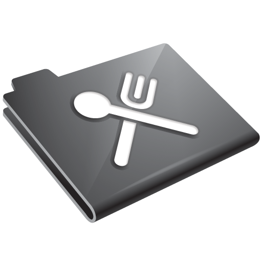 Eat, Food, Grey, Restaurant Icon