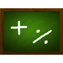 Education, Math, Mathematics Icon