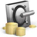 Cash, Lock, Money, Safe, Vault Icon
