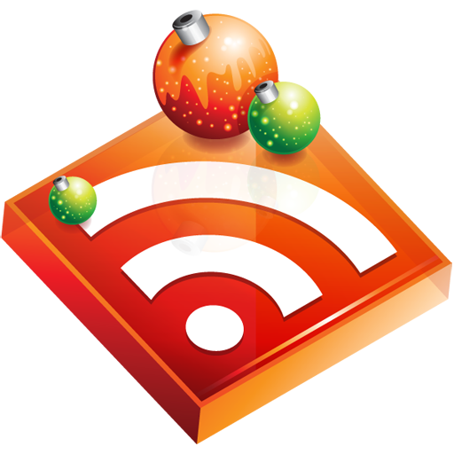 Christmas, Feed, Rss Icon