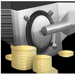 Cash, Lock, Money, Safe, Vault Icon