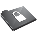 Grey, Locked Icon