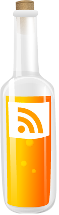 Bottle, Feed, Rss, Upright Icon