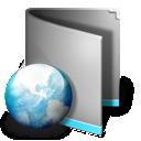 Folder, Net Icon