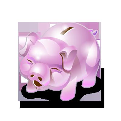 Accounting, Bank, Money, Piggy Icon