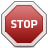 Signal, Stop Icon