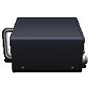 Black, Box Icon