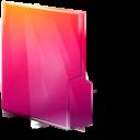 Aurora, Close, Folders, Texto Icon