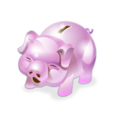 Accounting, Bank, Money, Piggy Icon