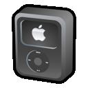 Black, Ipod, Video Icon