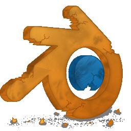 Blender, Destroy Icon