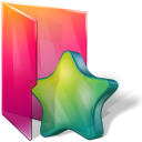 Aurora, Favorites, Folder, Star Icon