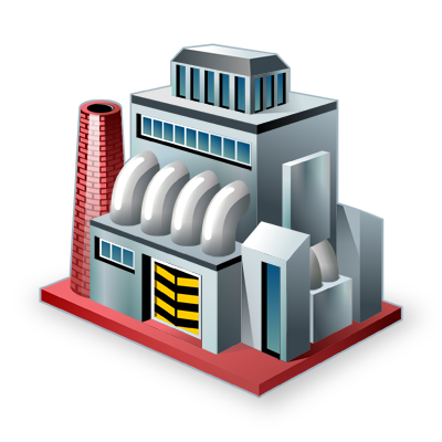 Factory, Industry Icon