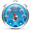 Dashboard, Timer, Widgets Icon