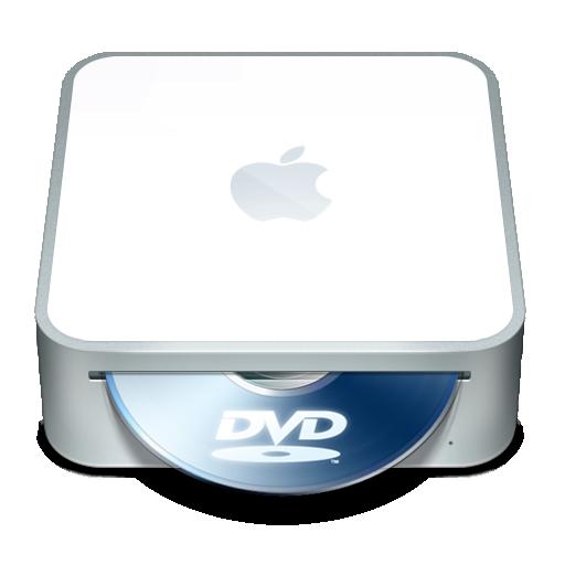 Dvd, Mac, Mini Icon