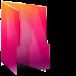 Aurora, Folder, Open Icon