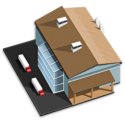 Building Factory House Icon Download Free Icons