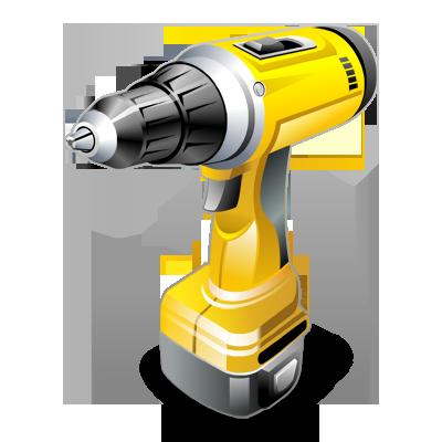 Drill, Machine Icon