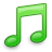 Green, Itunes, Music, Tone Icon