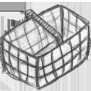 Basket, Empty Icon