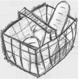 Basket, Ecommerce, Shopping, Webshop Icon