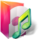 Aurora, Folder, Itunes, Music Icon