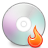 Burning, Disc Icon