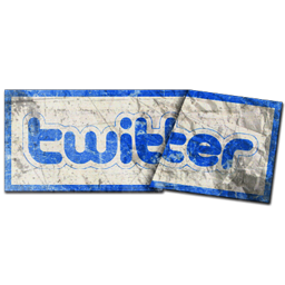 Grunge, Sticker, Twitter Icon