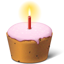 Birthday, Cake, Easter Icon