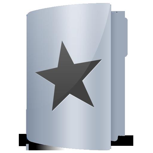 Favourites, Folder, Star Icon