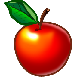 Apple, Food, Fruit Icon