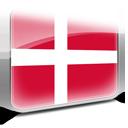 Copenhagen, Denmark, Flag Icon