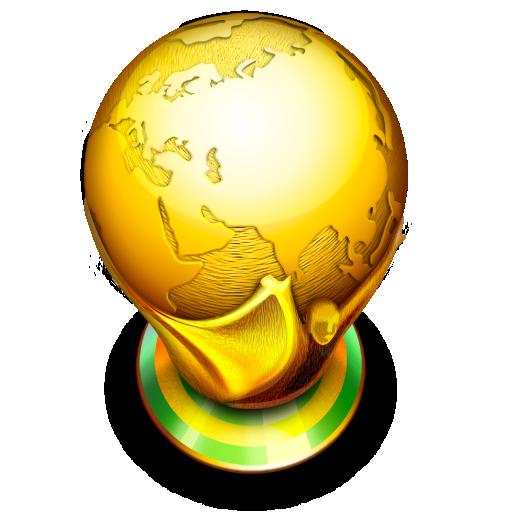 Champion, Favorites, Prize, Soccer, Winner, World Icon